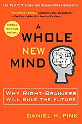 Best Sales Books includes A Whole New Mind: Why Right-Brainers Will Rule the Future recommended by D.J. Waldow