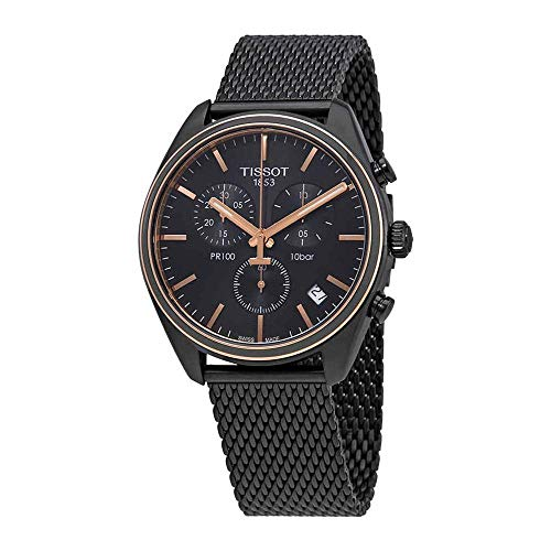 Tissot Damen-Uhren Analog Quarz One Size 87291103