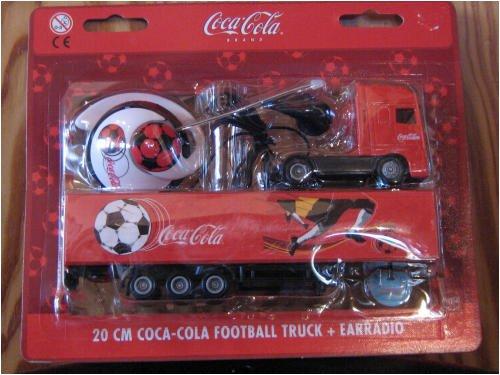 Coca-Cola - Pendiente para camión de fútbol (20 cm)