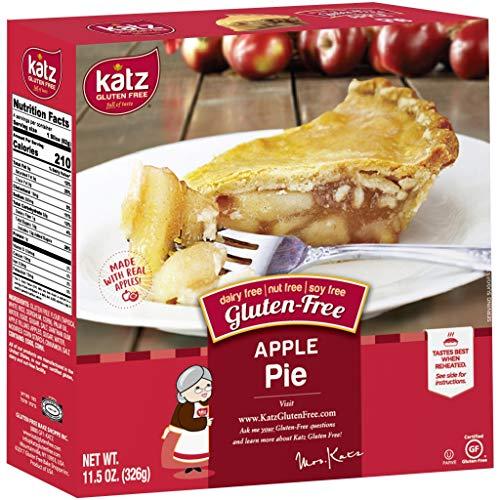 Katz Gluten Free Personal Size Apple Pie | Dairy Free, Nut Free, Soy Free, Gluten Free | Kosher (6 Packs of 1 Pie, 11.5 Ounce Each)