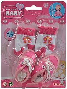 Simba Calcetines y zapatos para bebé recién nacido