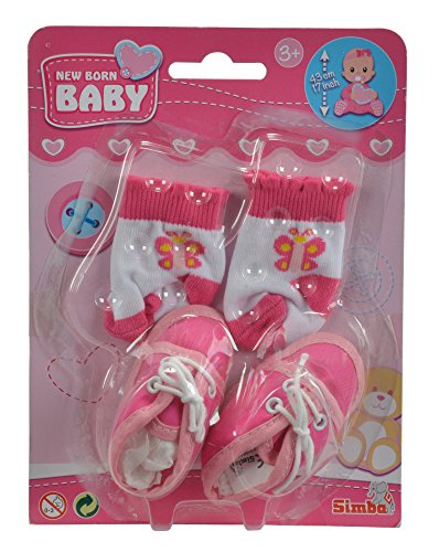 Simba 105560844 Schuhe und Socken, Mehrfarbig