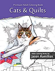 cats and quilts to color