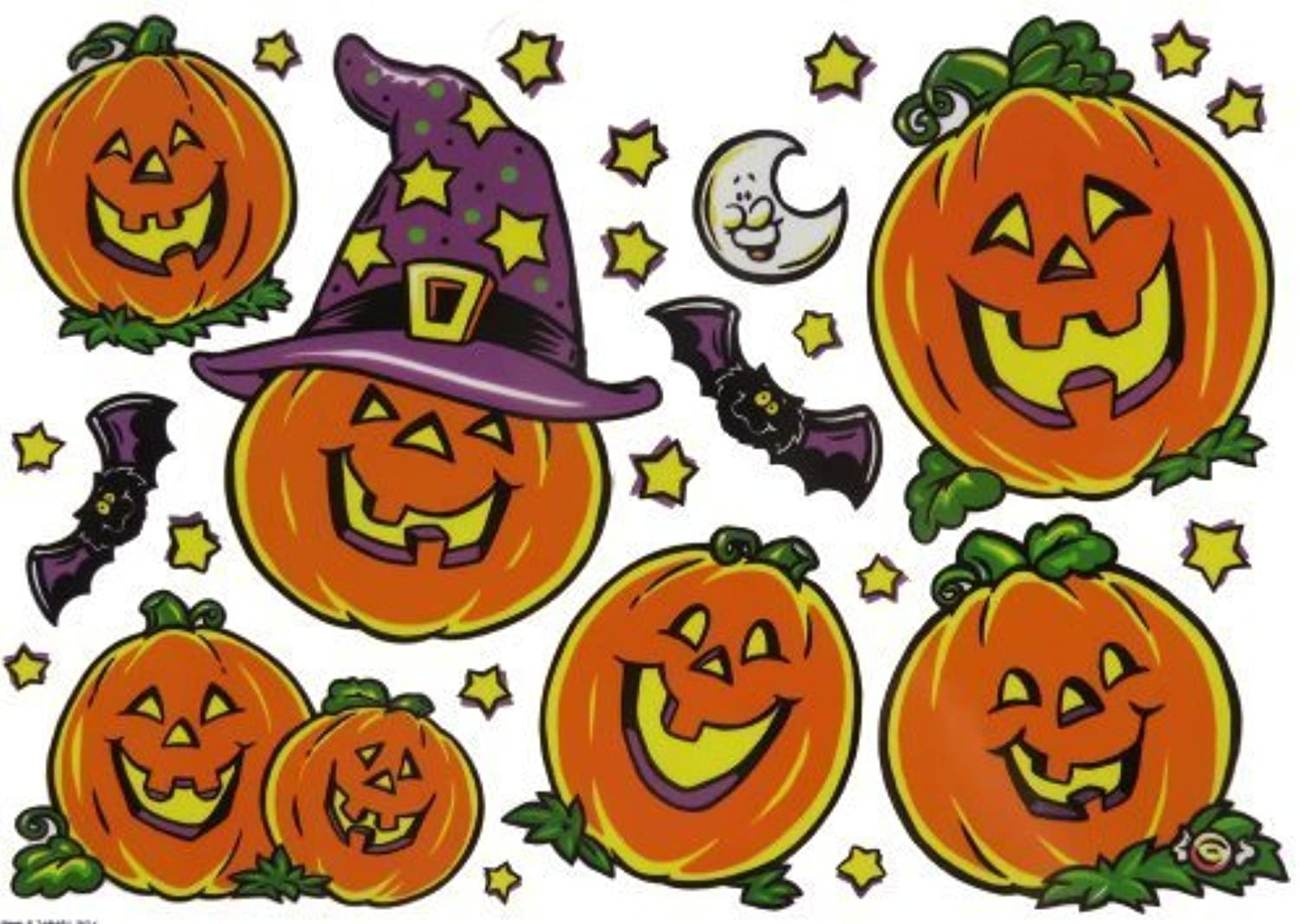 Halloween Window Clings  by Big City Bargains