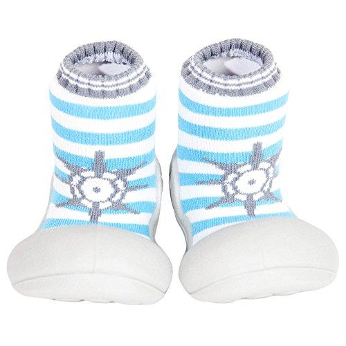 Attipas , {Chaussures premiers pas pour bébé (garçon) turquoise Turquoise S- M- L- Xl - turquoise - Turquoise, 25.5 EU