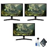 LG 27MP59G-P 27' 16:9 IPS Gaming Monitor (27MP59G-P) 3 Monitor Bundle Set