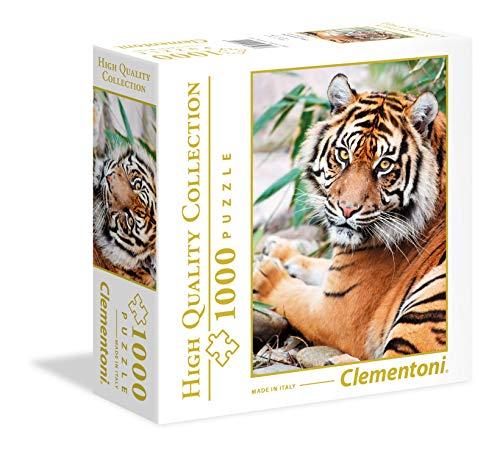 Clementoni Puzzle Sumatra-Tiger de 1000 piezas.