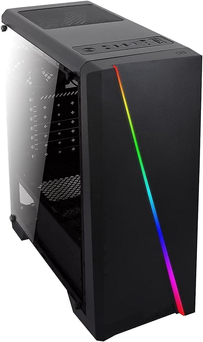 PC Gaming - JOYBE COMPUTERS AMD Ryzen 3 Pro | 3.20 GHz |Ram 8 GB | Ssd 240 GB |Grafica AMD Radeon Vega 3 | WiFi | Ordenador sobremesa Gaming | Windows 10 Pro Juegos pc