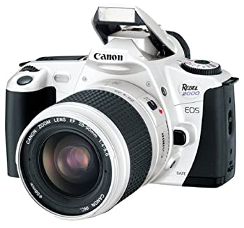 Canon EOS Rebel 2000 Silver Date 35mm FILM SLR Camera Deluxe Kit with 28-90mm Lens  Discontinued by Manufacturer