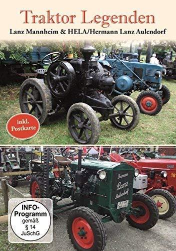 Traktor Legenden - Lanz Mannheim & HELA/Hermann Lanz Aulendorf (incl. Postkarte)