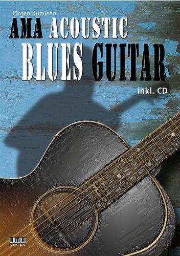 Akoestische blauwe gitaar (+CD): voor gitaar/tablet Kumlehn