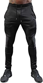 Men's Workout Joggers Slim Athletic Fit Sweatpants with Pockets