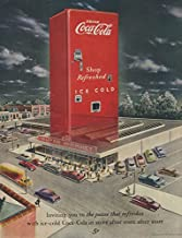 Inviting you to Coca-Cola huge vending machine Super Market ad 1949 SEP