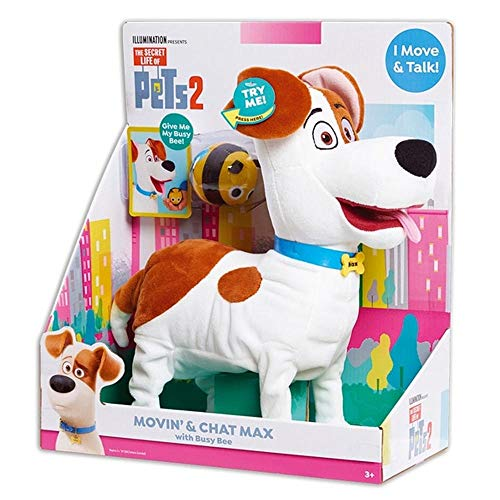 Secret Life Of Pets 2 Max Feature Plush