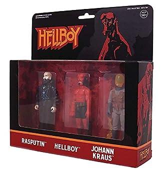 Super 7 Hellboy Reaction Action Figures 3 Pack B