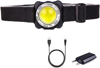 Hoofdlamp hoofdlamp krachtigste led-koplamp COB LED Head Light USB oplaadbare schijnwerper zaklamp waterdichte hoofdlamp m...