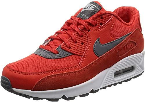 Nike Air Max 90, Scarpe da Ginnastica Donna, Arancione (Max Orange/Cool Grey/White/Mtlc Silver), 38 EU