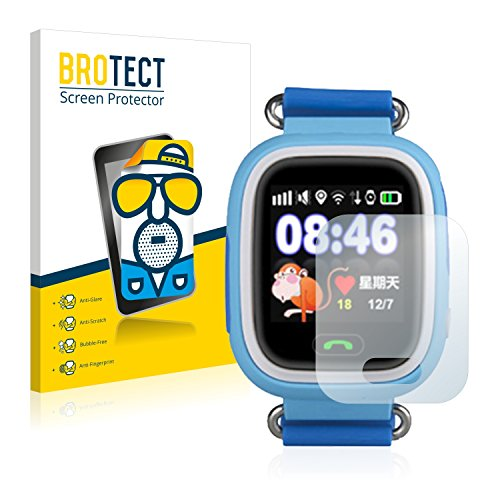 BROTECT 2X Entspiegelungs-Schutzfolie kompatibel mit Wonlex GPS Watch GW900S Displayschutz-Folie Matt, Anti-Reflex, Anti-Fingerprint