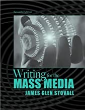 J.G. Stovall's Writing for the Mass(Writing for the Mass Media (7th Edition) [Paperback])2008