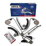 MOCA Timing Chain Kit for 07-11 Hyundai Azera & 06-10 Hyundai Sonata & 08-13 Kia Sorento & 06-10 Kia Sedona 3.3L 3.5L 3.8L V6 DOHC G6DA G6DB