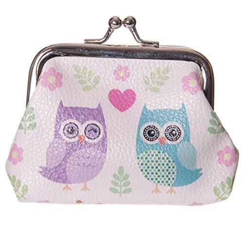 Fun Mini-Geldbörse-Love Owls