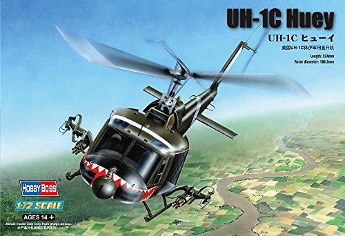 Hobby Boss UH-1C Huey Helicopter Model Building Kit