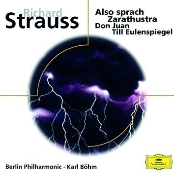 R. Strauss: Also sprach Zarathustra; Don Juan; Till Eulenspiegel