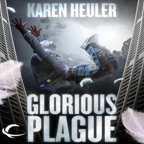 Glorious Plague audiobook cover art