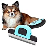 Dog Grooming Brush, Reduces up to 90% of Shedding Hair. This Dog Brush