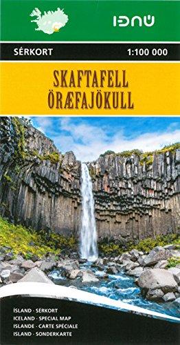 Skaftafell National Park  1 : 25 000 - 1 : 100 000: Special Map / Sonderkarte