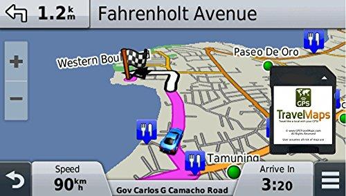 Antigua Barbuda GPS Map (SD Memory Card / Garmin Compatible)