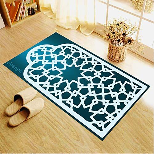 Alfombra de oración, alfombra de oración personalizada, alfombra de oración para musulmana, alfombra de oración para mujeres, regalo para musulmana, alfombra de oración turca 4 (66 x 120 cm) …