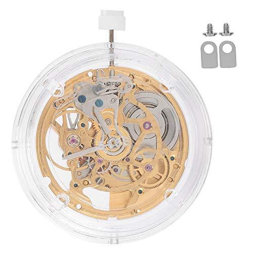 Kit de movimiento de reloj, movimiento de reloj mecánico 2824, dorado resistente al agua para relojero