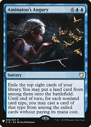 Magic: The Gathering - Aminatou's Augury - Mystery Booster - Commander 2018