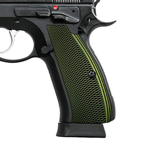 Cool Hand Aluminum Grips for CZ 75 Full Size, CZ 75 SP-01 Series, Shadow 2, 75B BD, Screws Included, SP1-PN-AO