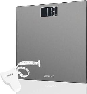 comprar comparacion Cecotec Báscula de baño digital Surface Precision 9200 Healthy alta precisión Plataforma de acero inoxidable , pantalla LC...
