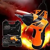 Destornillador eléctrico, herramientas inalámbricas con batería recargable de 4.8V Battery LED.45 Accesorios for la pieza principal de bricolaje DYWFN