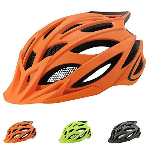 Casco Bicicleta Helmet de Bici con una Luz Trasera LED,Adulto Casco Bicicleta...