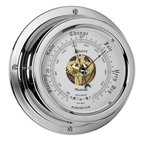 Nauticalia Fitzroy Baromètre QuickFix Chromé
