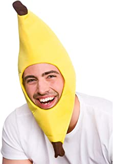 Wicked Costumes Adult Unisex Funny Banana Yellow Hat Novelty Fancy Dress Accessory