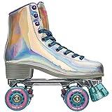 Impala Rollerskates Girl's Impala Quad Skate (Big Kid/Adult) Holographic 11 (US Men's 9, Women's 11) M
