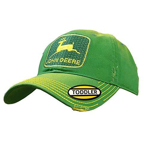 John Deere Toddler Kids Vintage Tm Cap-Green-Os