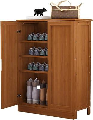 White JINGTIA Multifunzionale Armadio Rack Scarpa Ripiano con cassetto Locker Armadio Foyer Scarpa gabinetto Mobili in Legno,Blue