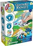 Science4you-Alfombra de Colorear Colorea los Animales con 7 Rotuladores de Colores, Lavables con Agua, Kit de Manualidades y Juego Educativos para Niños 3+ Años (80002801)