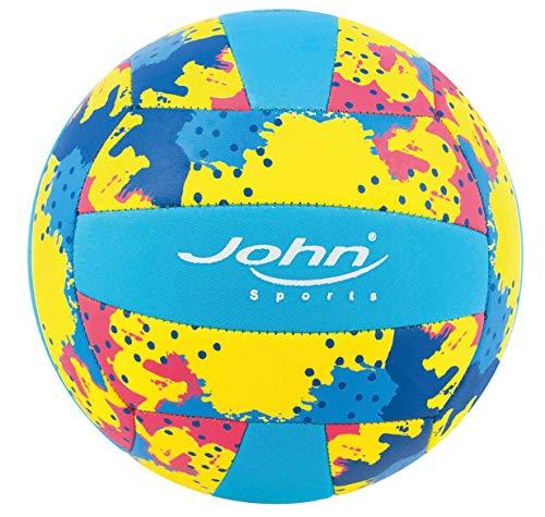 Neopren Beach Volleyball Wasserball John Sports Gr. 5 - 22 cm