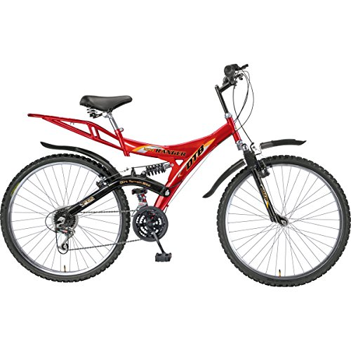 Hero Ranger 18 Speed Dtb Vx 26T Mountain Bike 19.7-inches (Red & Black)