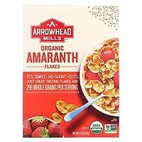Arrowhead Mills Organic Amaranth Flakes アマランサス オーガニック フレーク シリアル 340g [海外直送品]