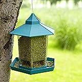 Mangiatoie per uccelli per mangiatoie per uccelli esterne Balcone esterno Appeso per uccelli Scatola per alimenti per uccelli Gabbia per uccelli Accessori Trasparente Tubo Trasparente Visualizzazione
