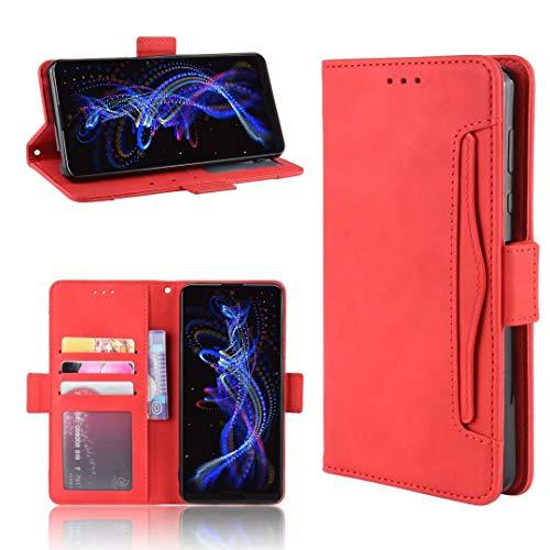 DYIGO Funda para Samsung Galaxy A12 Nacho,Funda para teléfono móvil, Funda para teléfono móvil Resistente a arañazos, Golpes y caídas, Textura de Piel Suave y cómoda (Rojo)