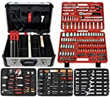 Famex 716-09 - Maletín de herramientas de alta calidad (173 piezas)